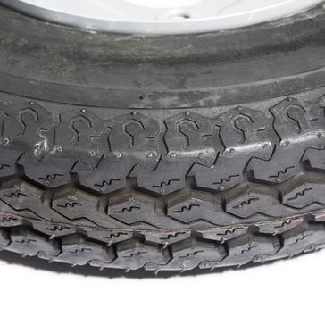 Black Maypole Spare Wheel for MP6815 Trailer