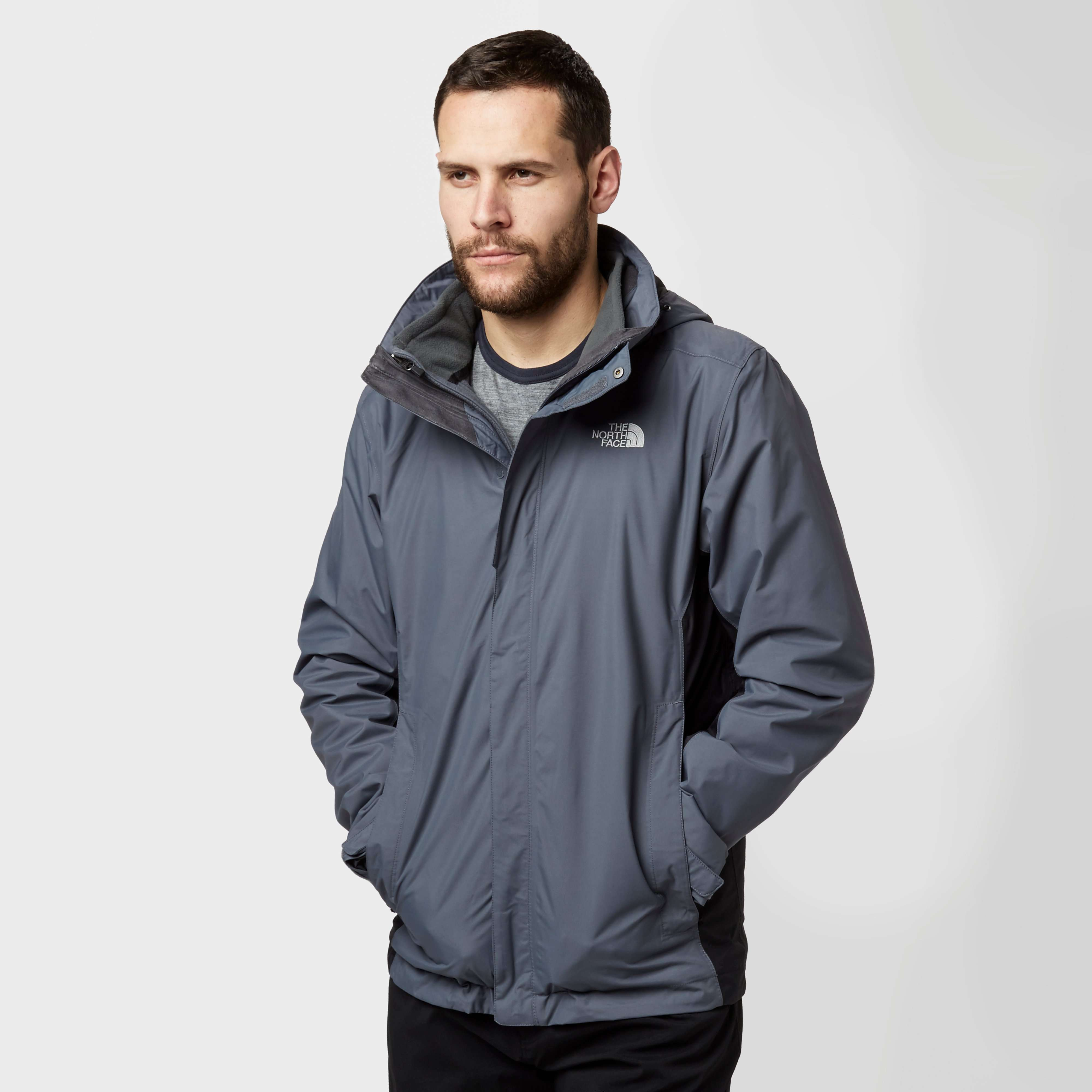 THE NORTH FACE Men's Evolution II Triclimate 3 in 1 Jacket