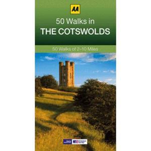AA 50 Walks In Cotswolds