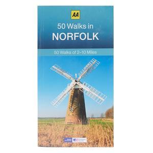 AA 50 Walks in Norfolk Guide