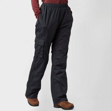 df736c8177d6f Black PETER STORM Women's Storm Waterproof Trousers ...