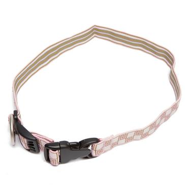 Pink Mountain Paws Dickie Bow Collar - Large