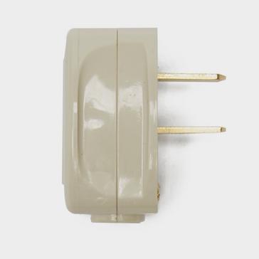 White W4 Clipsal 2-pin 12V Plug