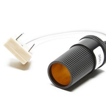 Black W4 Adapt It 12v Cigar Socket to W4 Type 2-Pin Plug