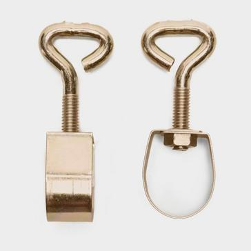 Gold W4 Awning Pole Clamps