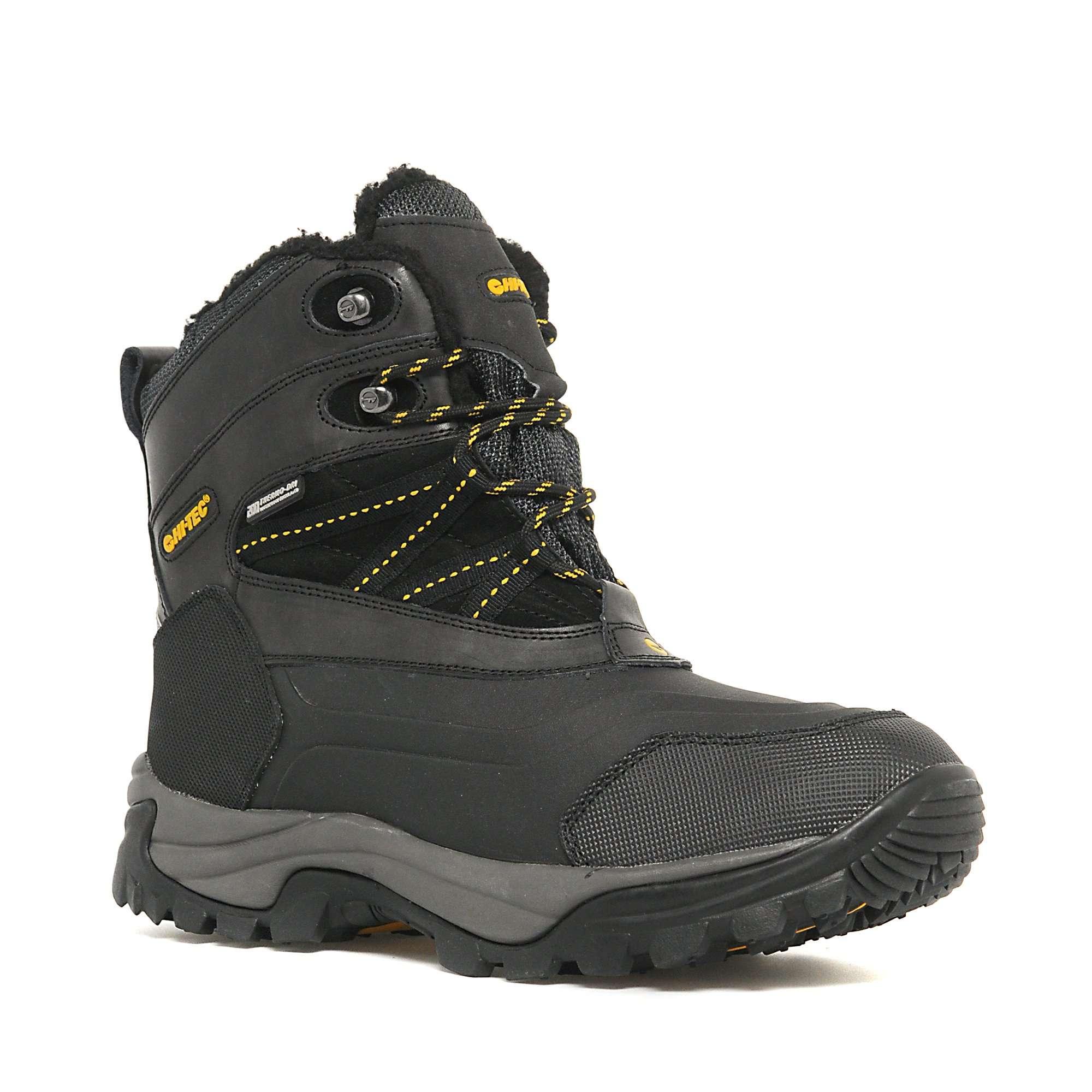 HI TEC Men's Snow Peak 200 Waterproof Winter Boot