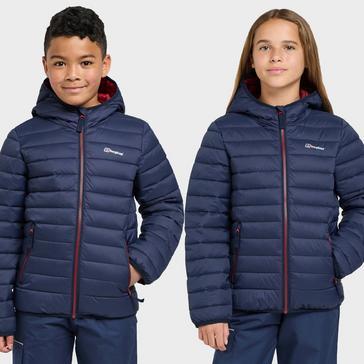 Navy Berghaus Kids' Kirkhale Baffle Jacket