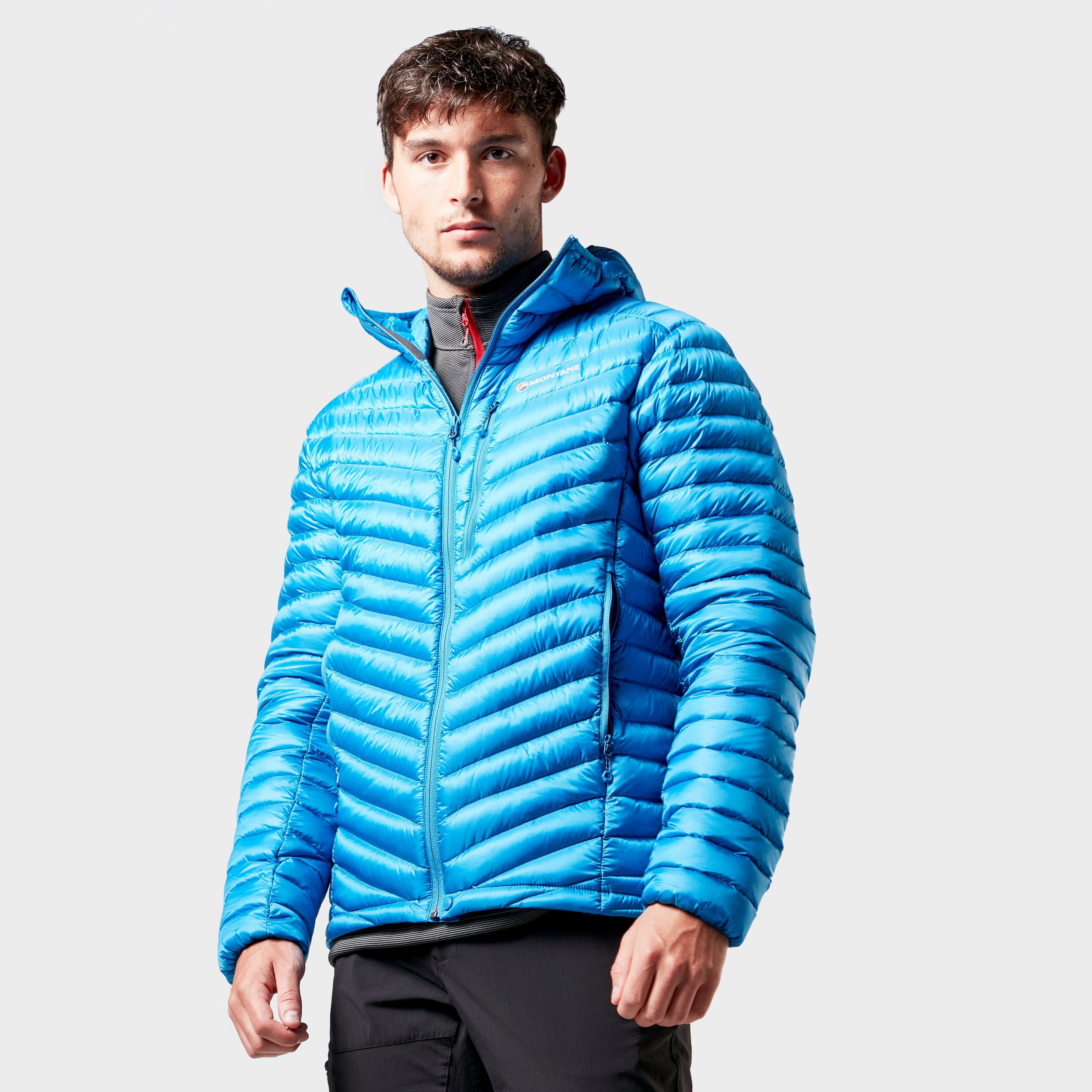 Montane Montane Mens Turbio Down Jacket - Blue, Blue
