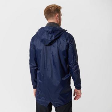Blue Peter Storm Men's Waterproof Parka In A Pack