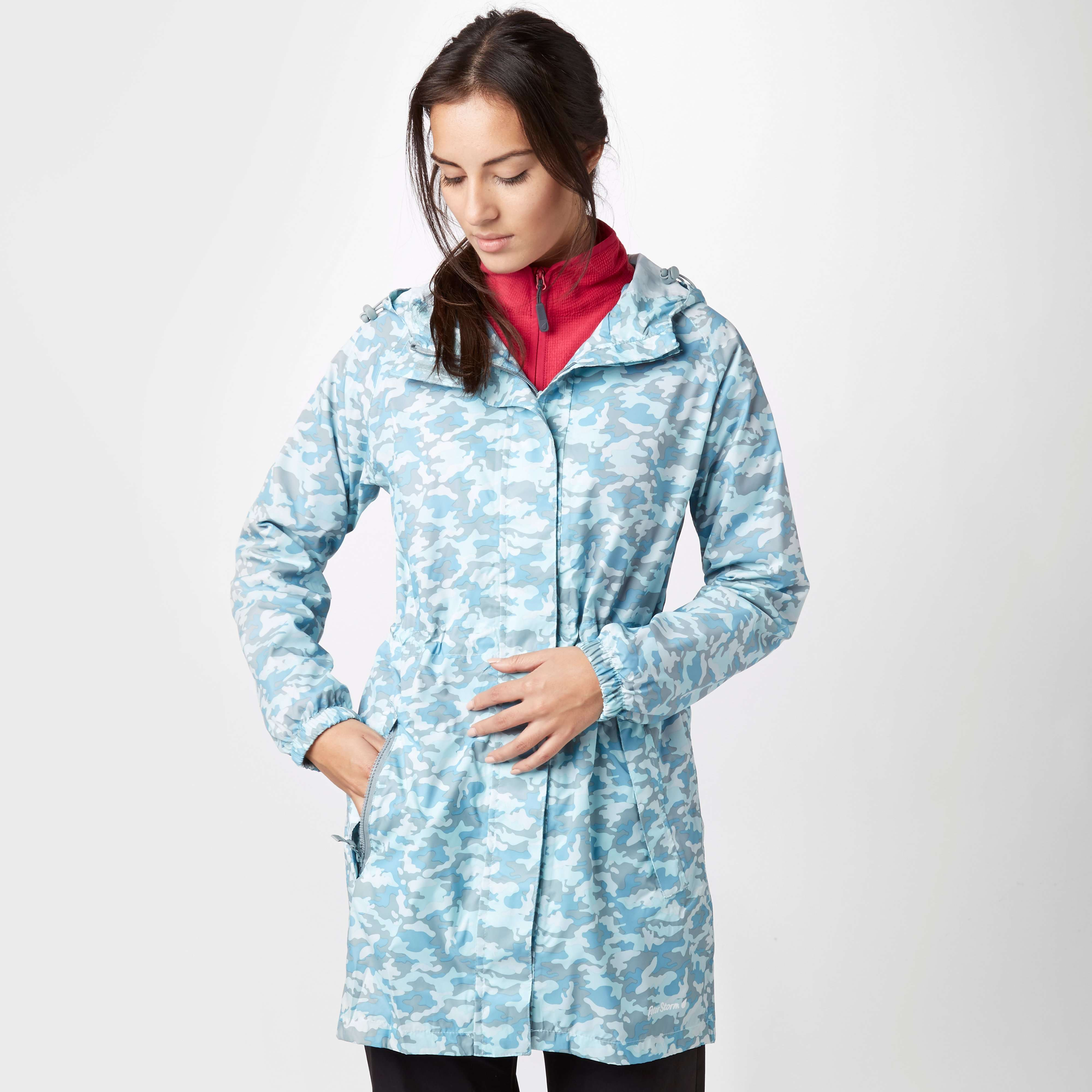 PETER STORM Women's Patterned Parka in a Pack