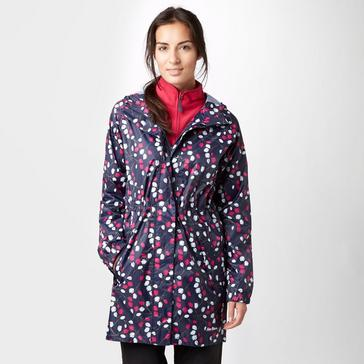 6946029e Navy PETER STORM Women's Parka in a Pack