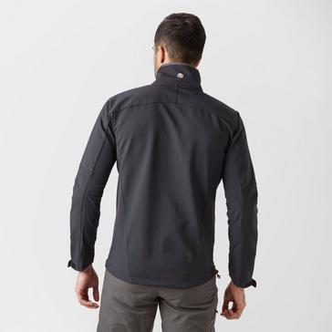 Black Berghaus Men's Ghlas Softshell Jacket