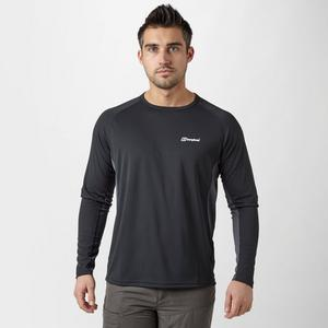 BERGHAUS Men's Tech Tee Long Sleeve Crew Neck