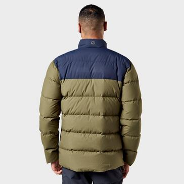 Green Berghaus Men's Mavora Down Padded Jacket