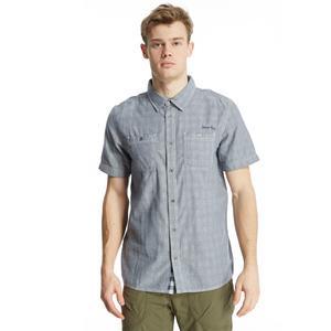 WEIRD FISH Men's Meuse Short Sleeve Shirt