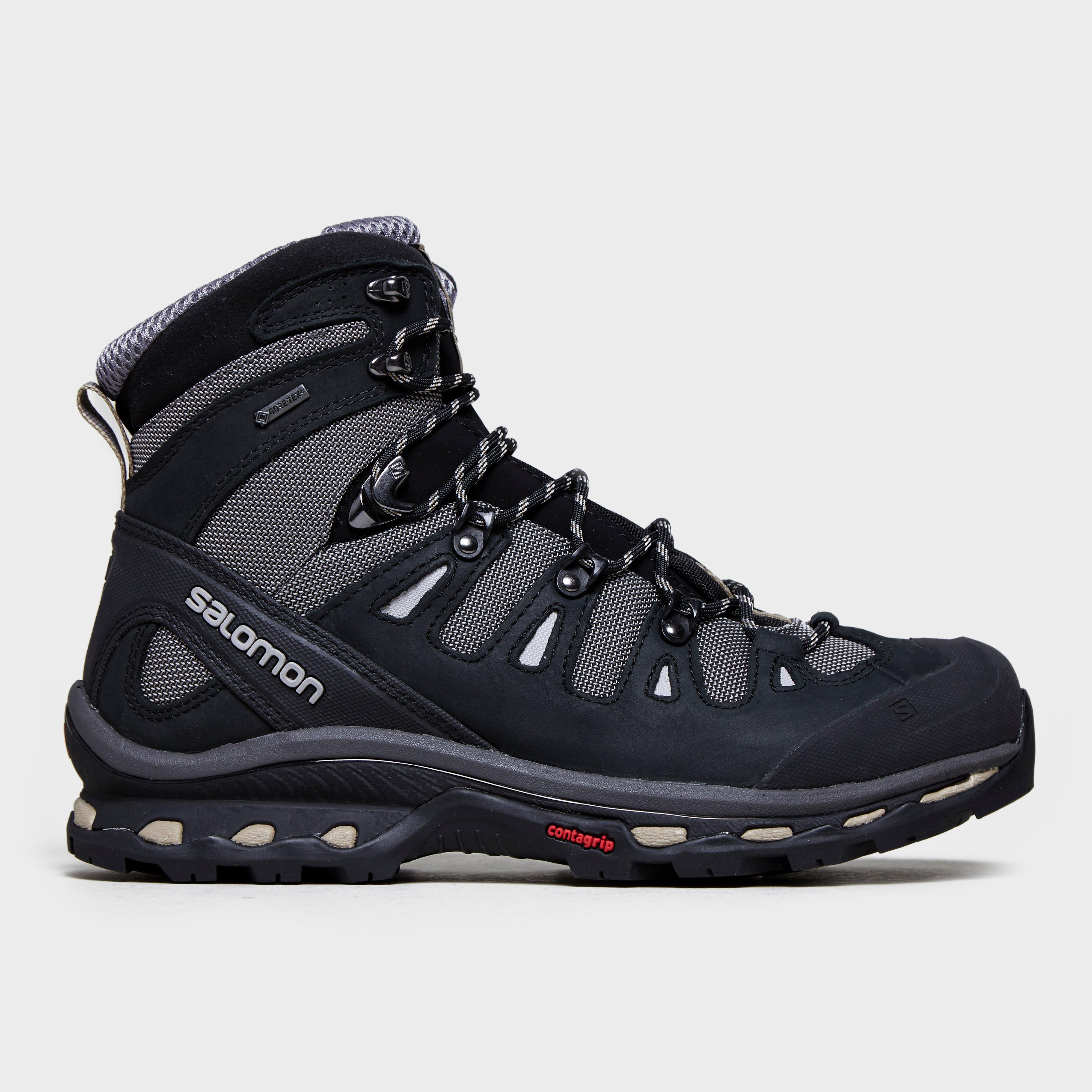 Salomon Mens Quest 2 4D Gtx Hiking Boot Walking Boots Grey