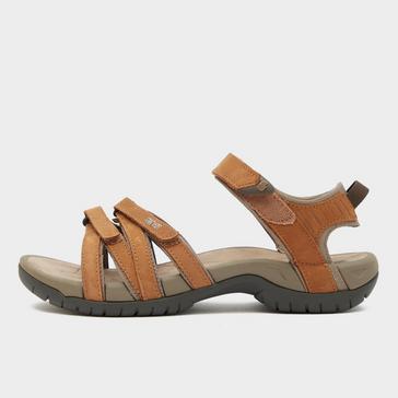 7184565bb474 Brown TEVA Women s Tirra Leather Sandal