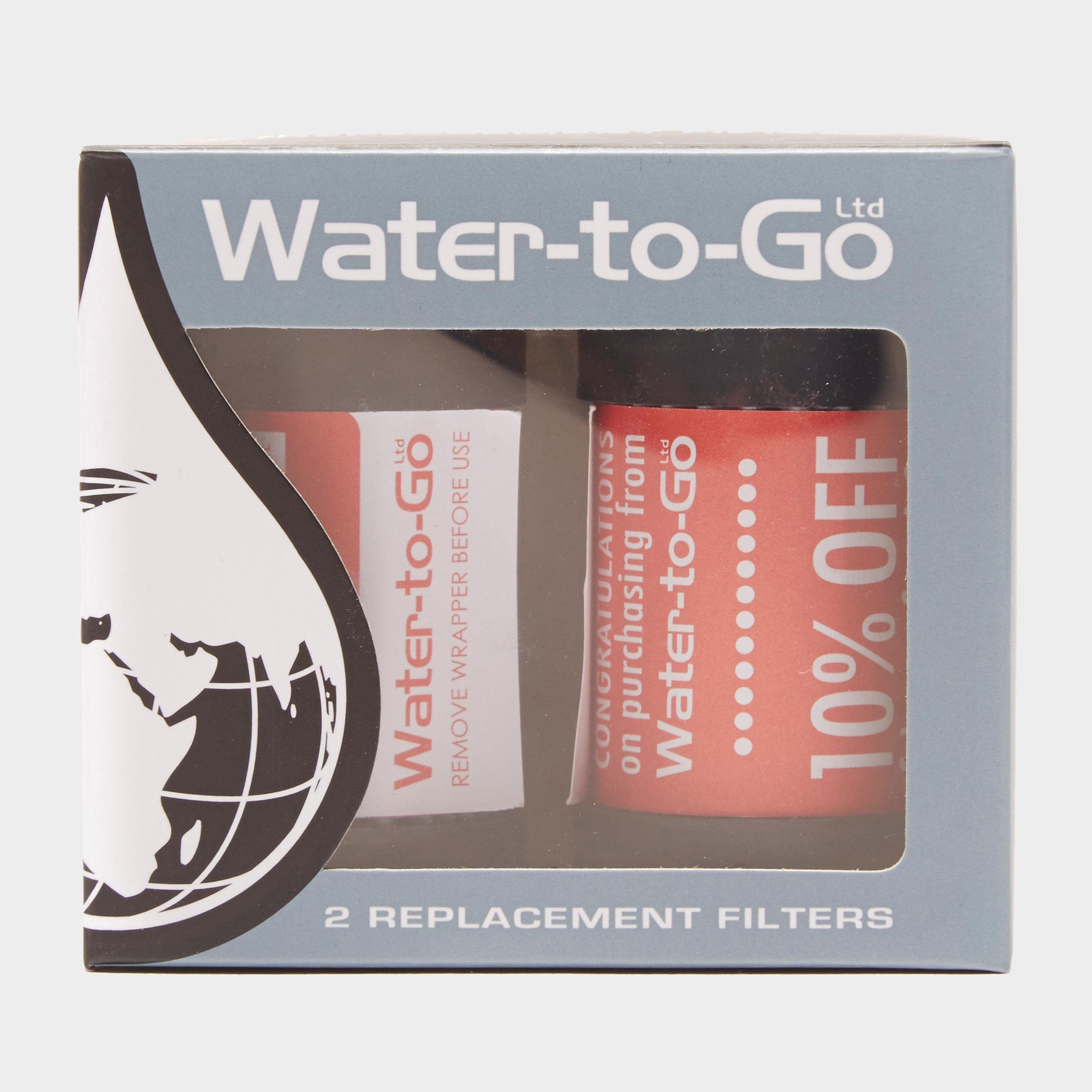 WATER-TO-GO Replacement Filters x 2