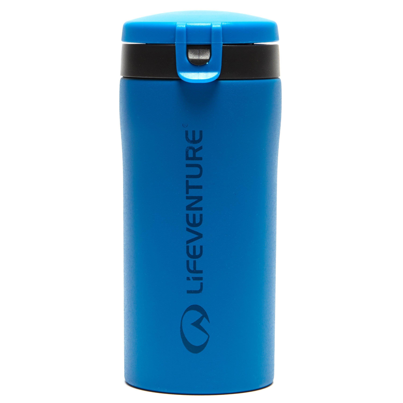 Lifeventure Lifeventure Flip-Top Thermal Mug - Blue, Blue