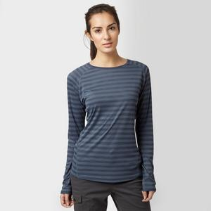 BERGHAUS Women's Stripe Long Sleeve Crew Baselayer