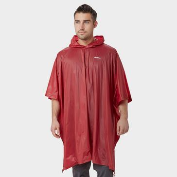 Red Peter Storm Men's Poncho