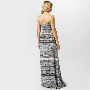 Black Animal Women's Lucindi Printed Woven Maxi Dress