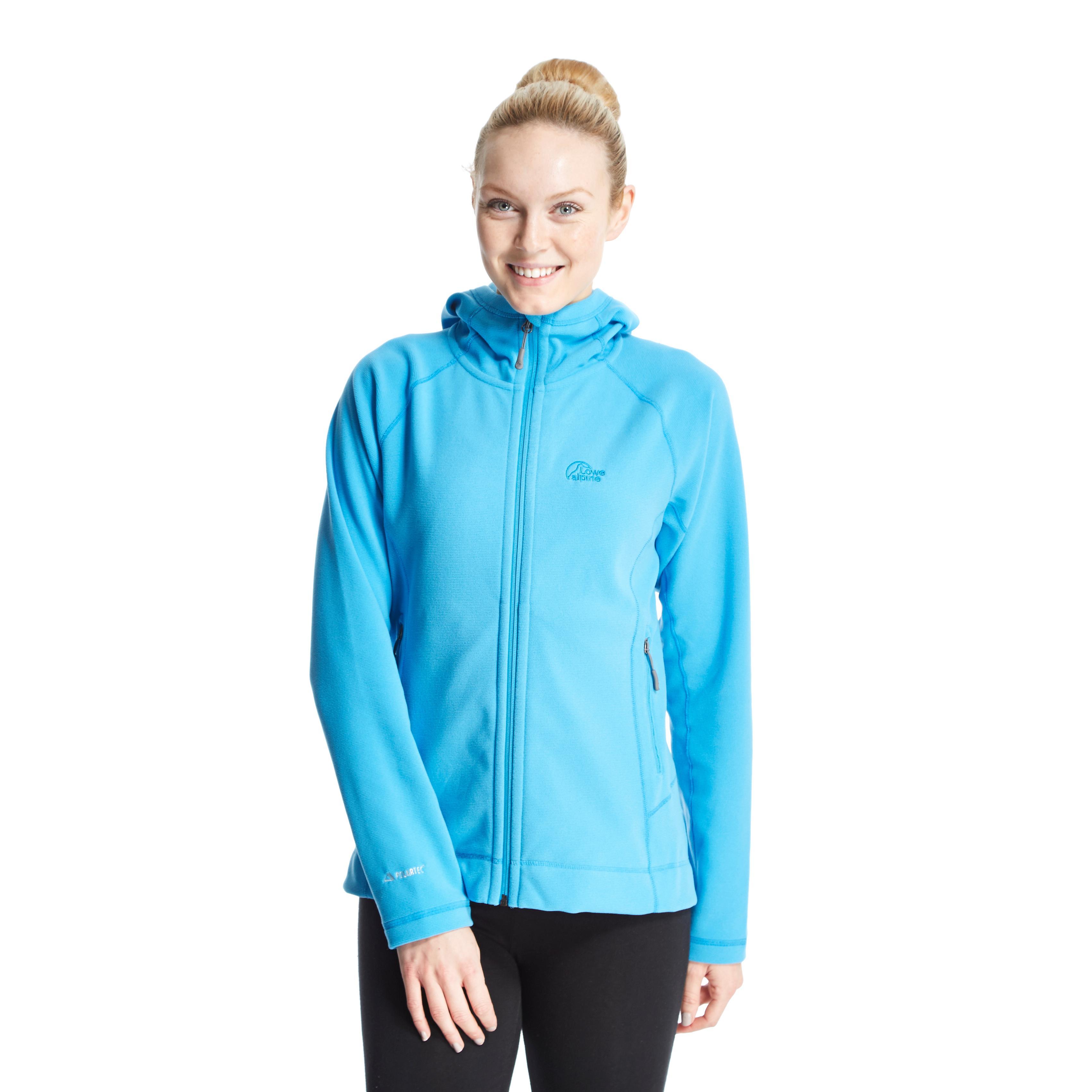 Lowe Alpine Womens Vixen Microfleece Jacket Blue