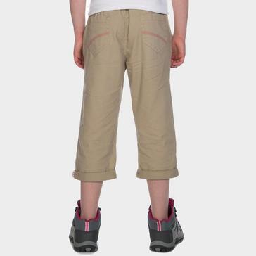 Beige Peter Storm Kids' Capri Pants