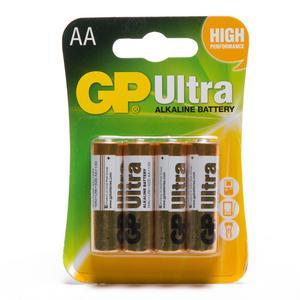 GP BATTERIES Ultra Alkaline AA 4 Pack