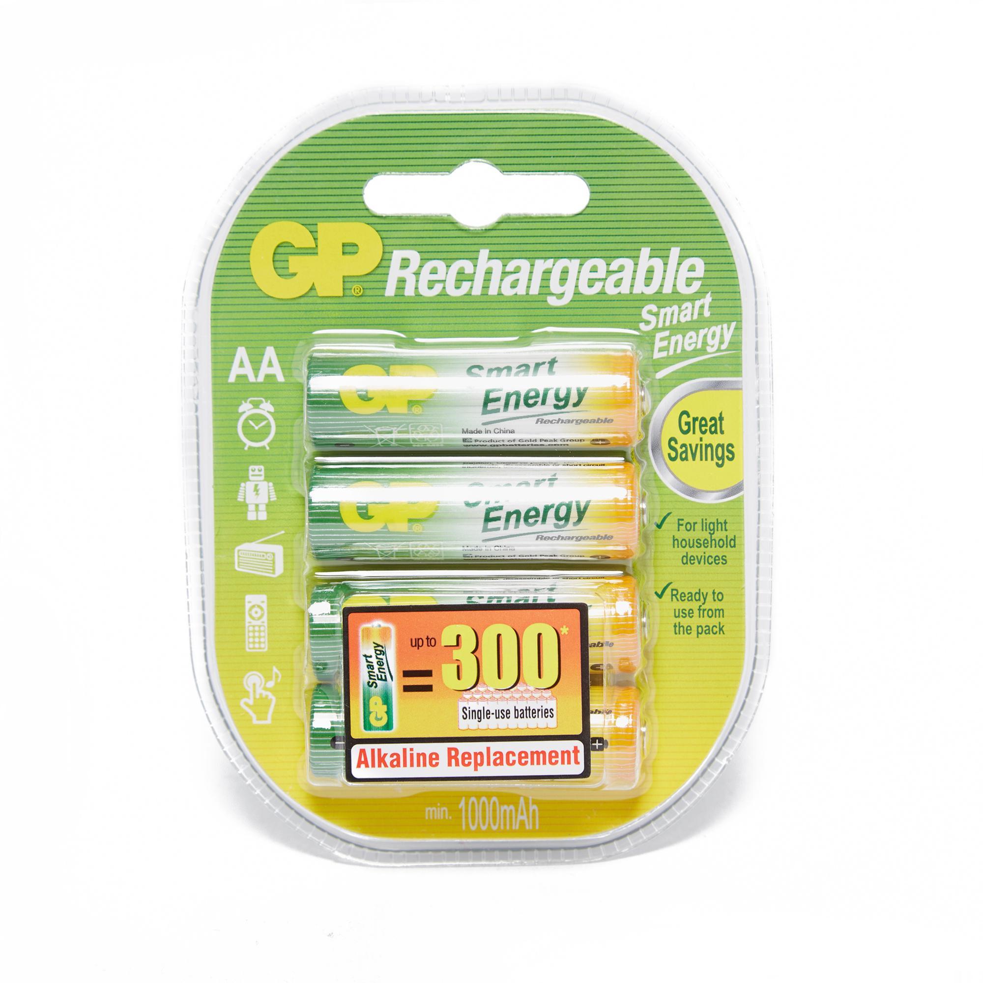 GP Batteries Gp Batteries Smart Energy Rechargeable AA 4 Pack - N/A, N/A