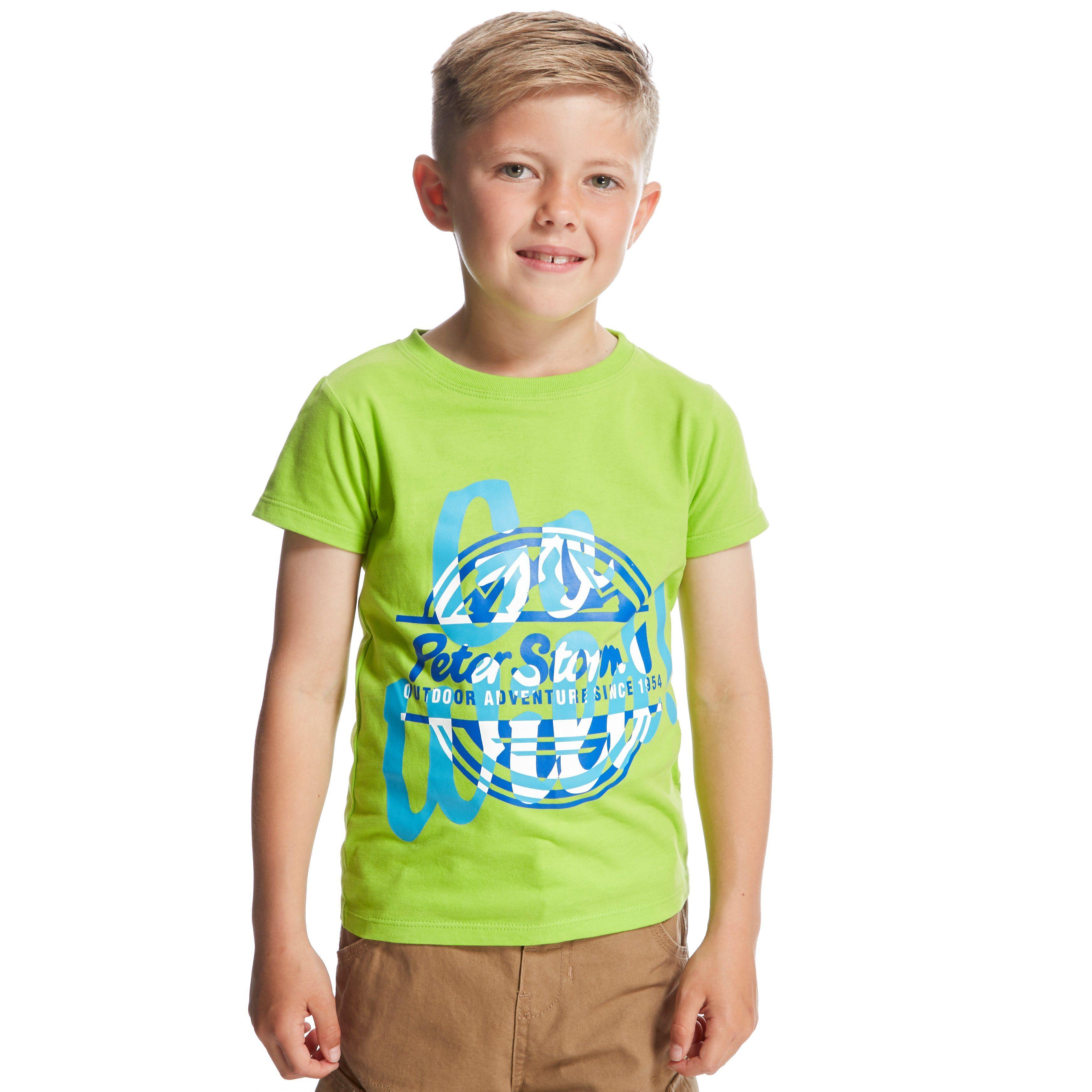 PETER STORM Boys' Go Wild T-shirt