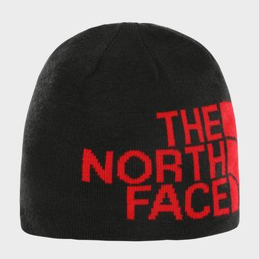 Red The North Face Men's Reversible Beanie