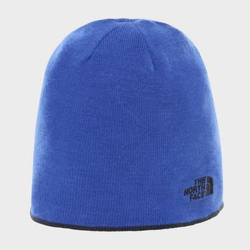 Blue The North Face Men's Reversible Beanie