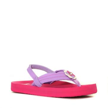 ceb6be4e21b0 Pink REEF Kids  Little Ahi Sandal