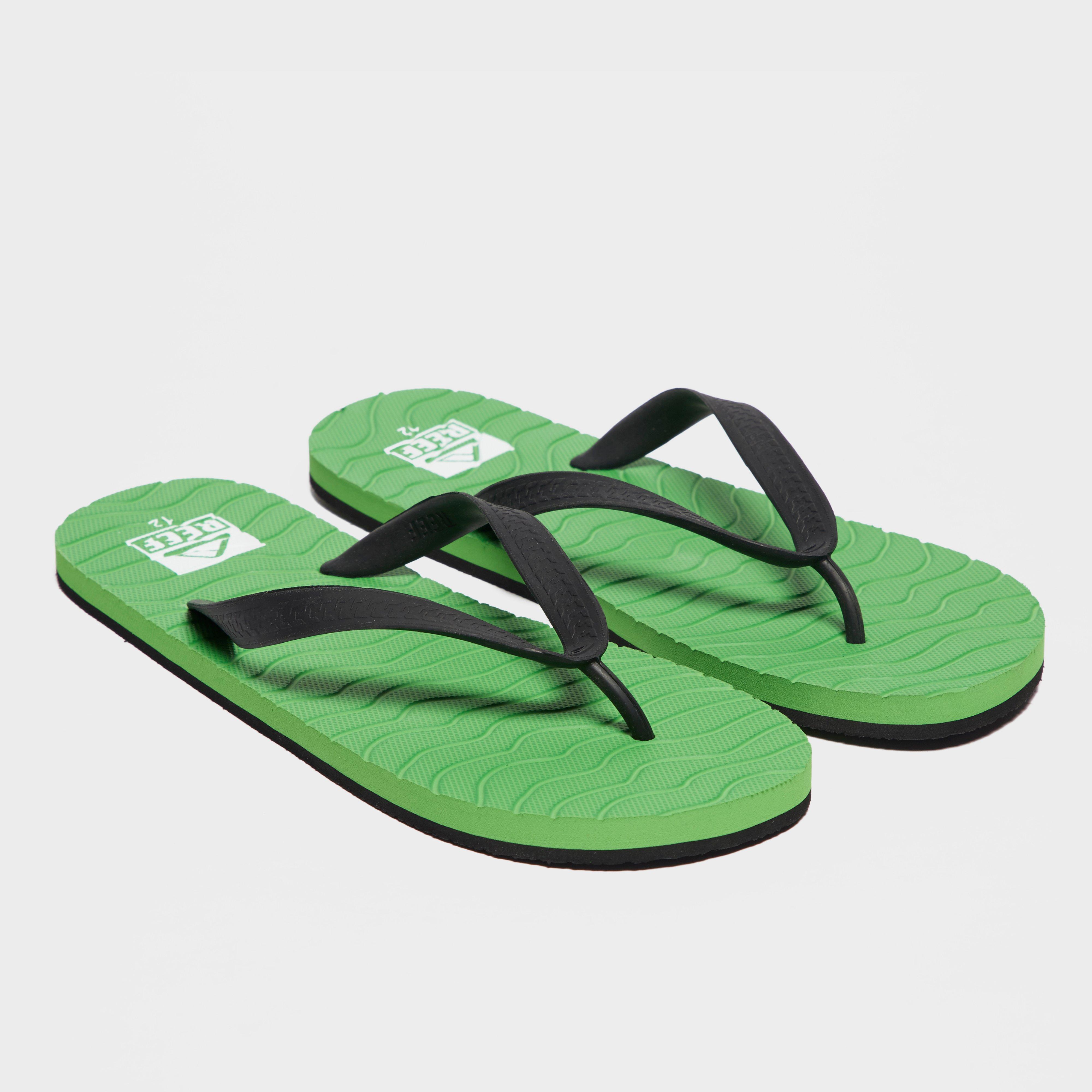 Reef Reef Mens Chipper Sandals - Green, Green