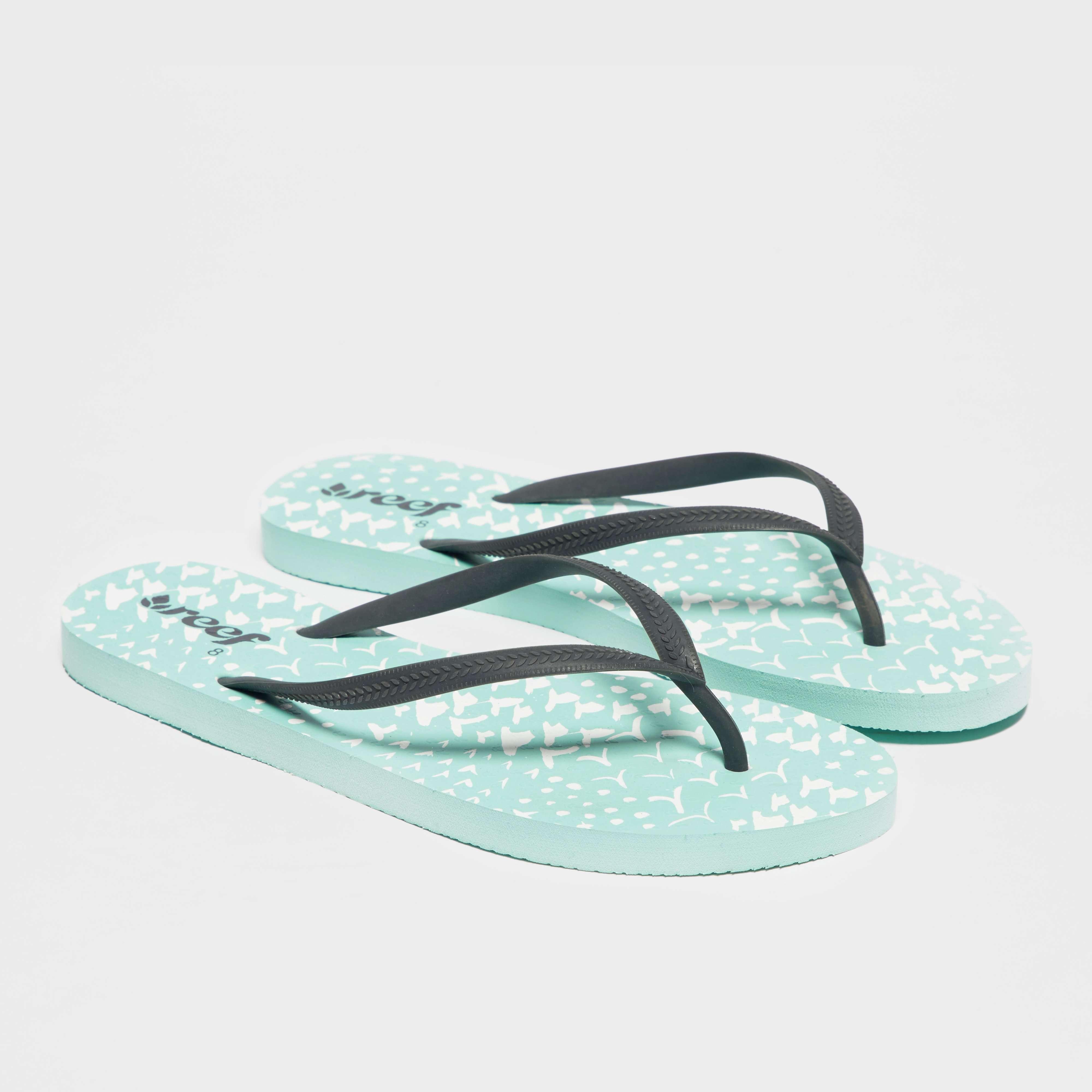 REEF Women's Chakras Aqua Flip Flop