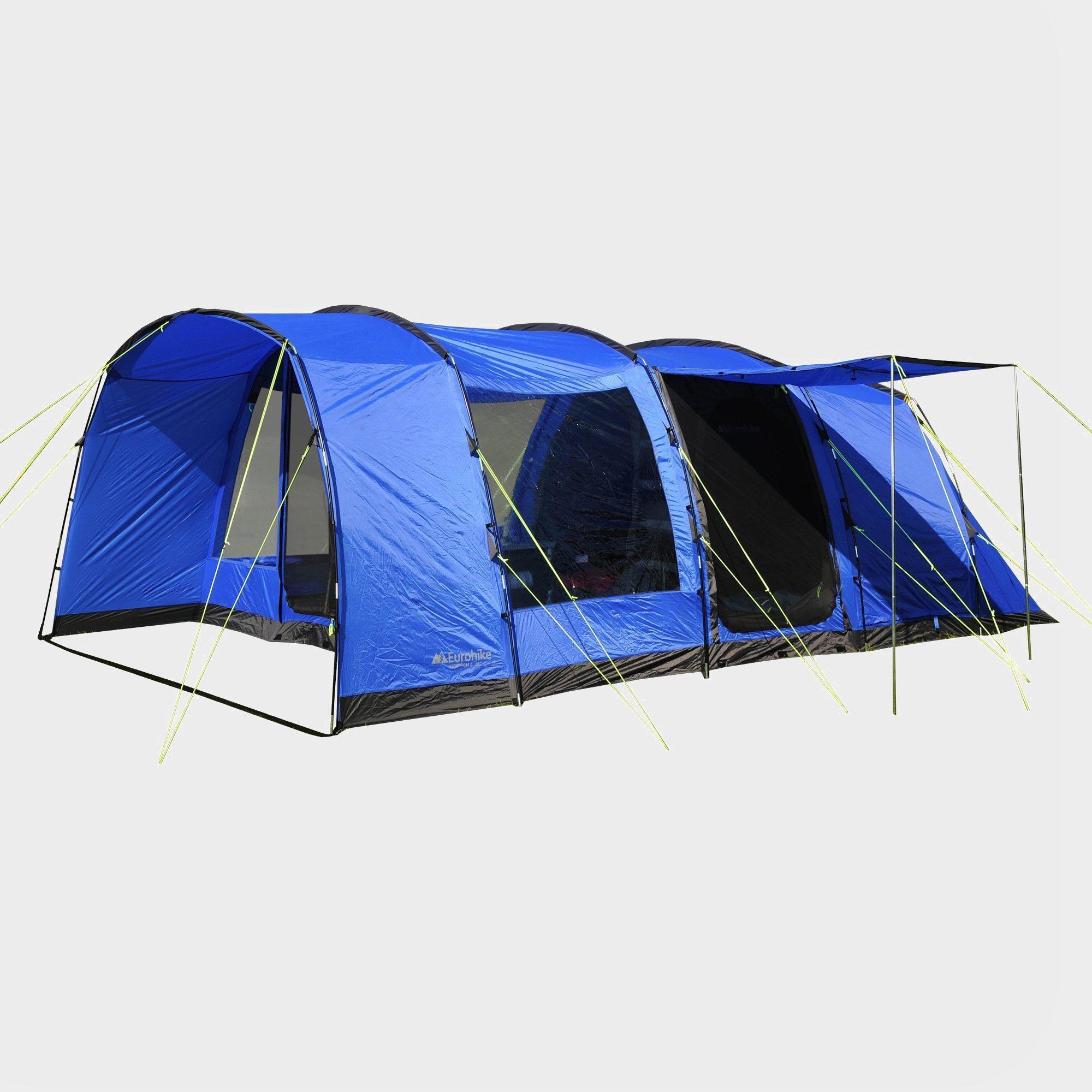 H&ton 6 Person Tent & Eurohike Hampton 6 Person Tent