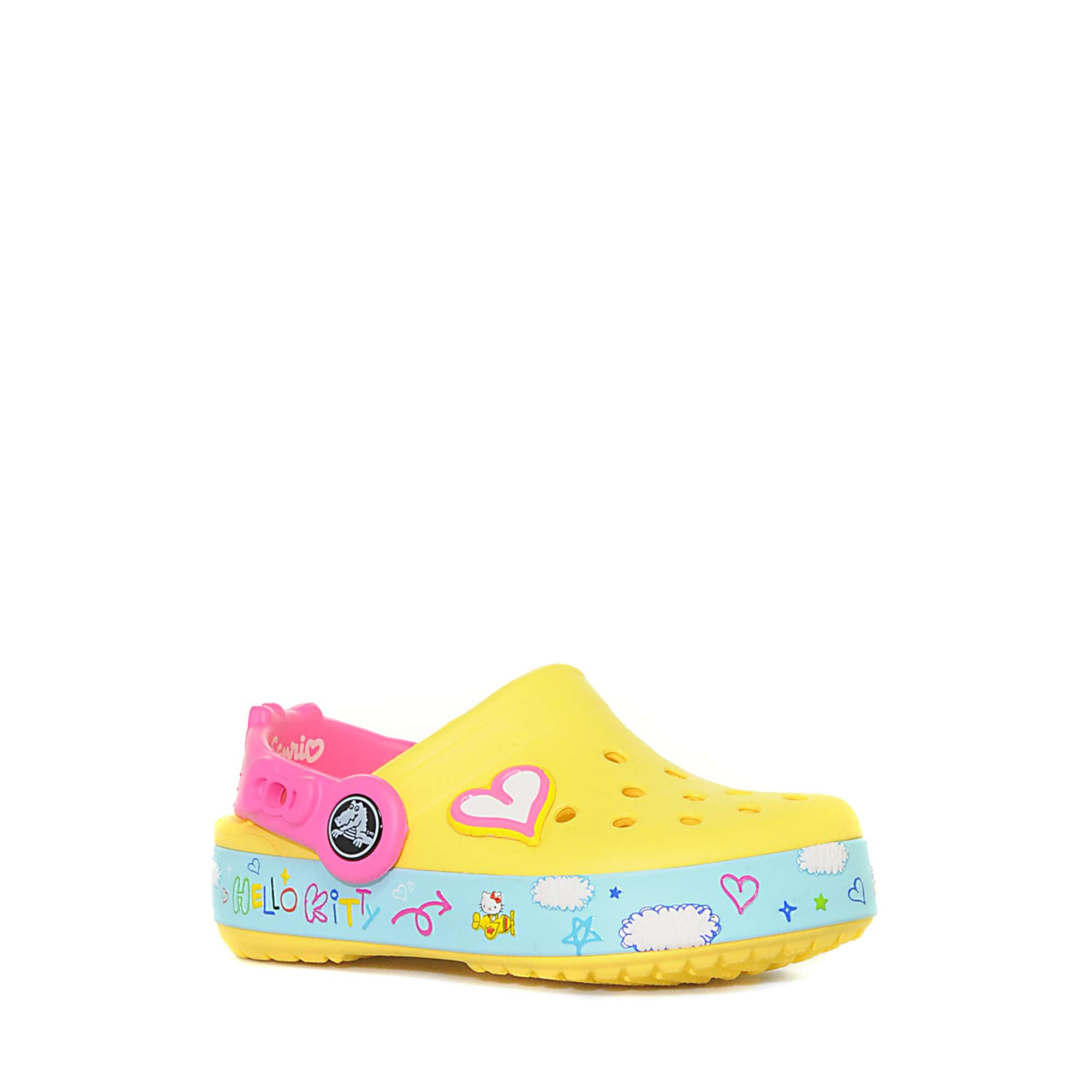 CROCS Kids' Hello Kitty® Bow Lined Clog