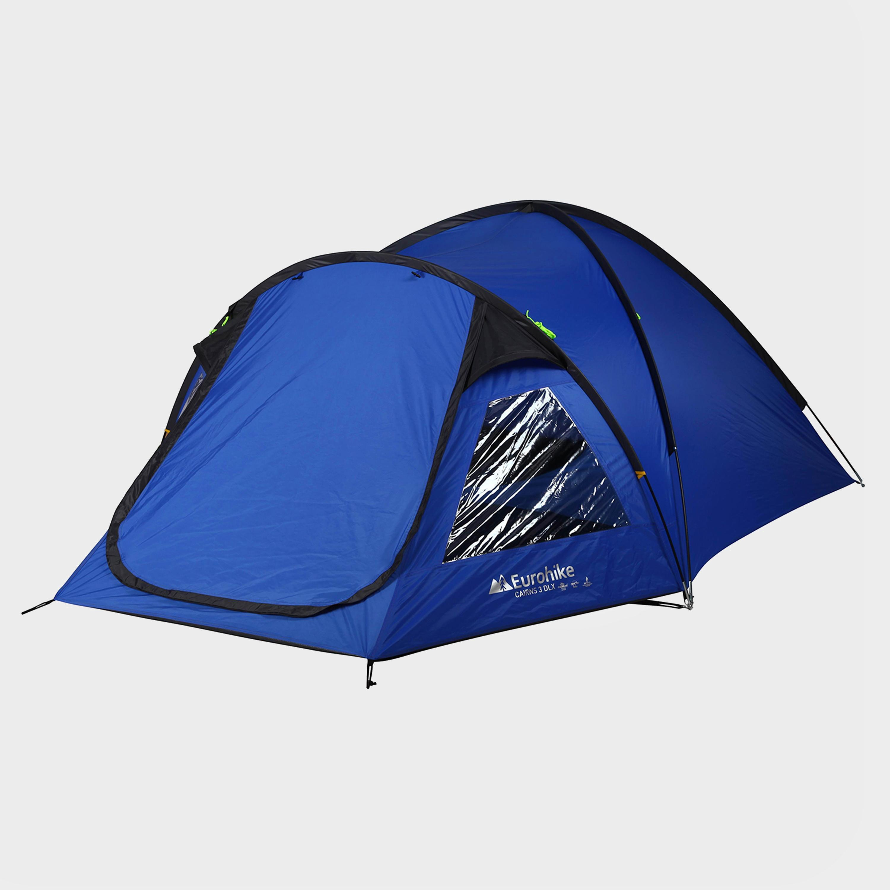 Cairns 3 Deluxe Tent  sc 1 st  Millets & Eurohike Cairns 3 Deluxe Tent
