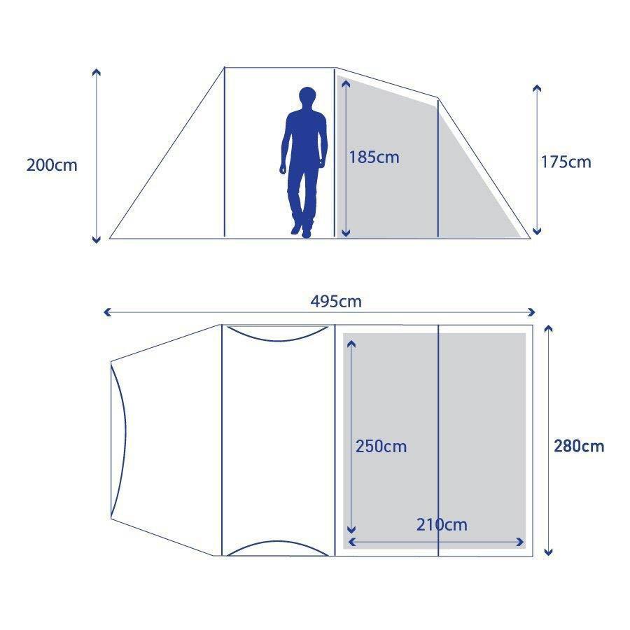 BERGHAUS Air 4 Inflatable Tent  sc 1 st  Blacks & Berghaus Air 4 Inflatable Tent