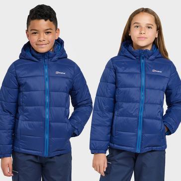 Blue Berghaus Kids' Burham Insulated Jacket