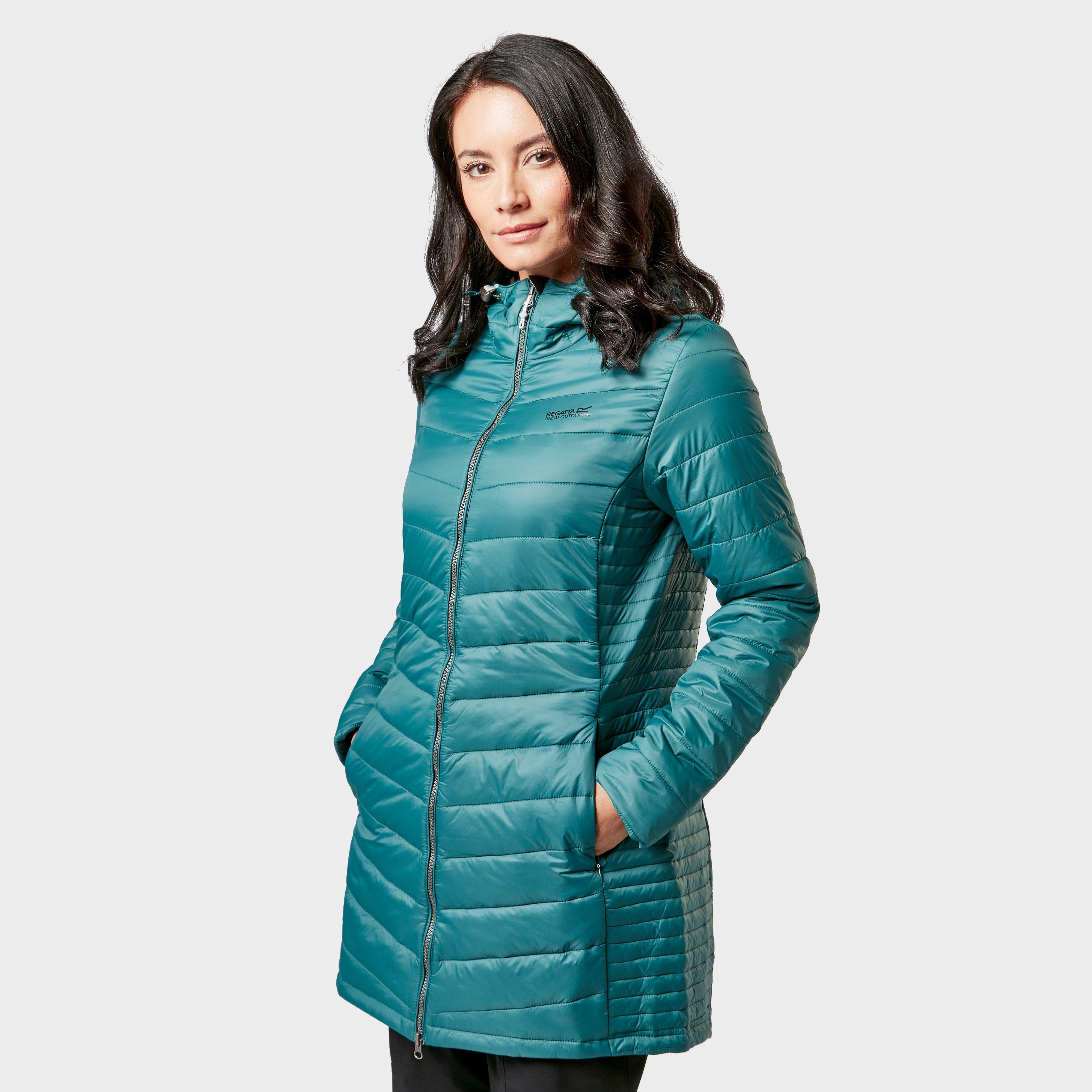 Regatta Regatta Womens Beaudine Long Baffle Jacket - Blue, Blue