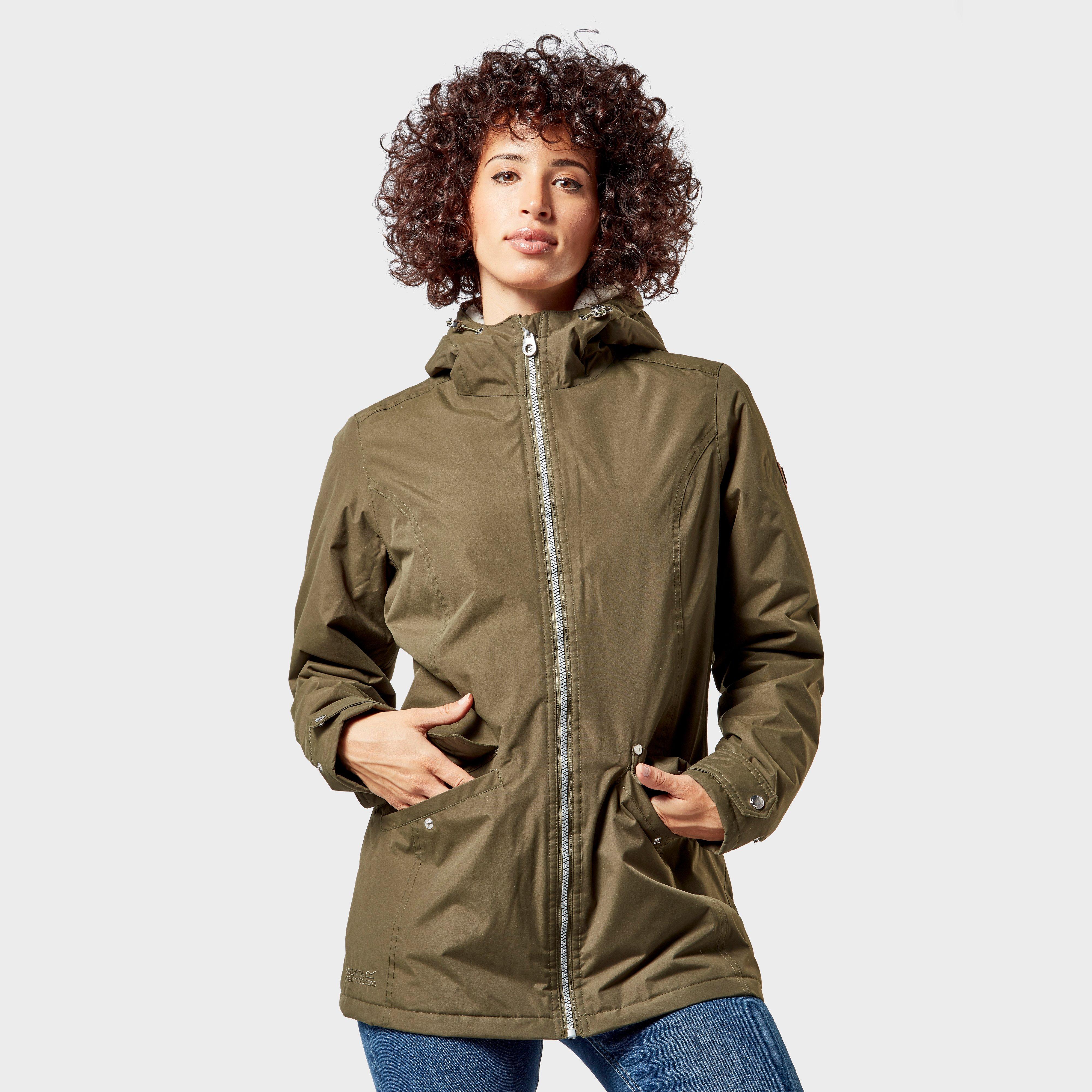 Regatta Regatta Womens Bergonia Waterproof Jacket - Khaki, Khaki