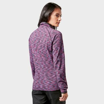 Purple Regatta Womens Harty FullZip Fleece