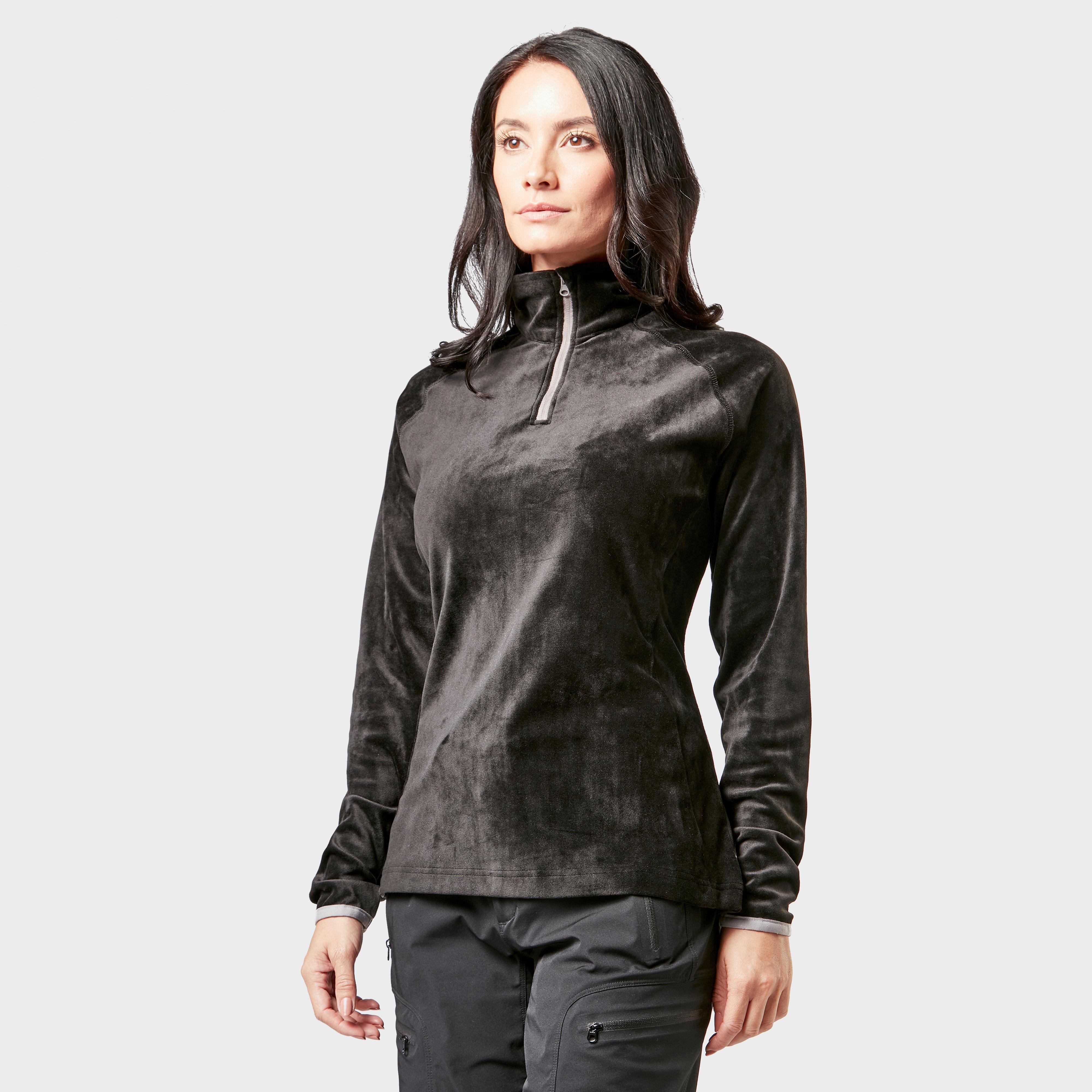 Regatta Regatta Womens Half-Zip Lavene Fleece - Black, Black