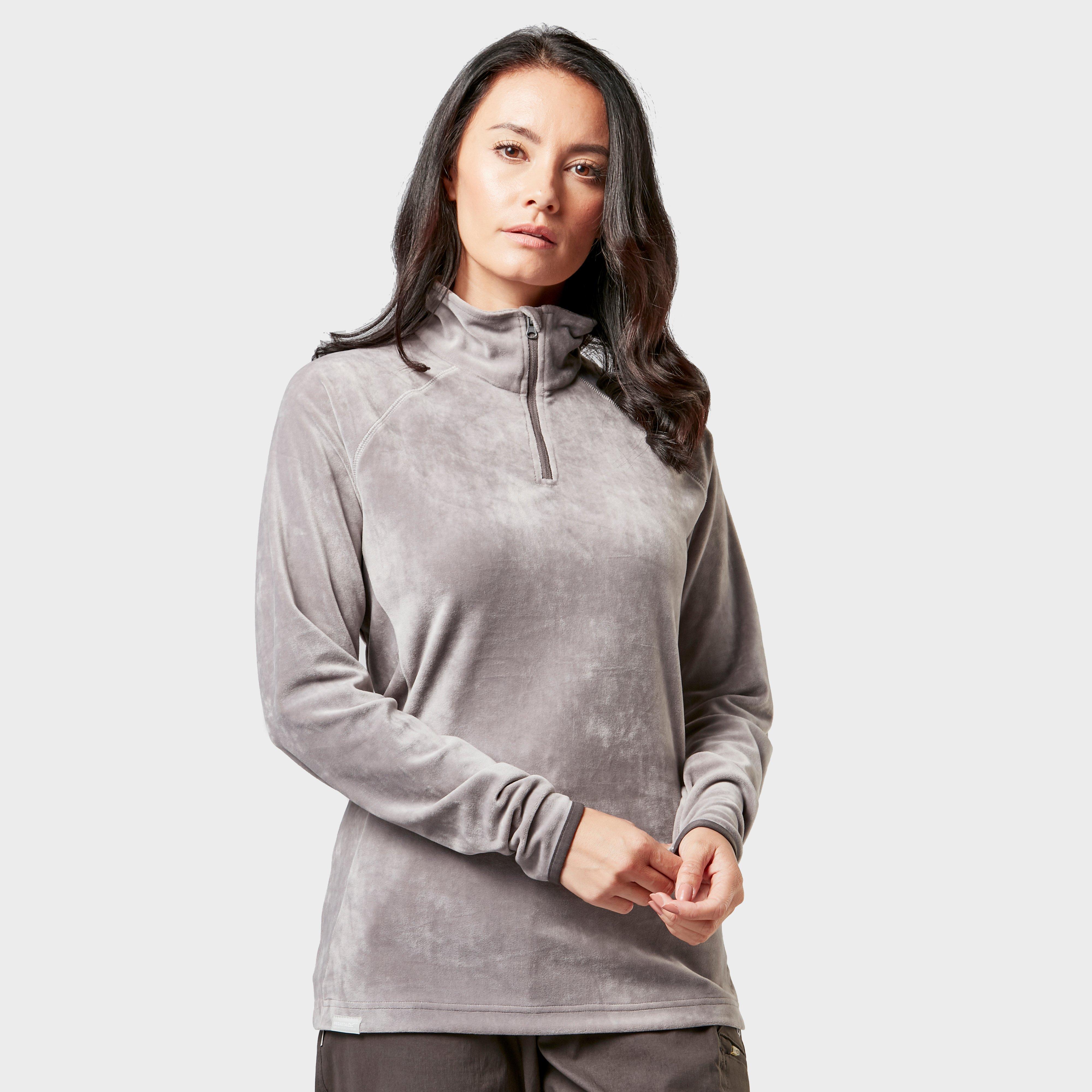 Regatta Regatta Womens Half-Zip Lavene Fleece - Grey, Grey