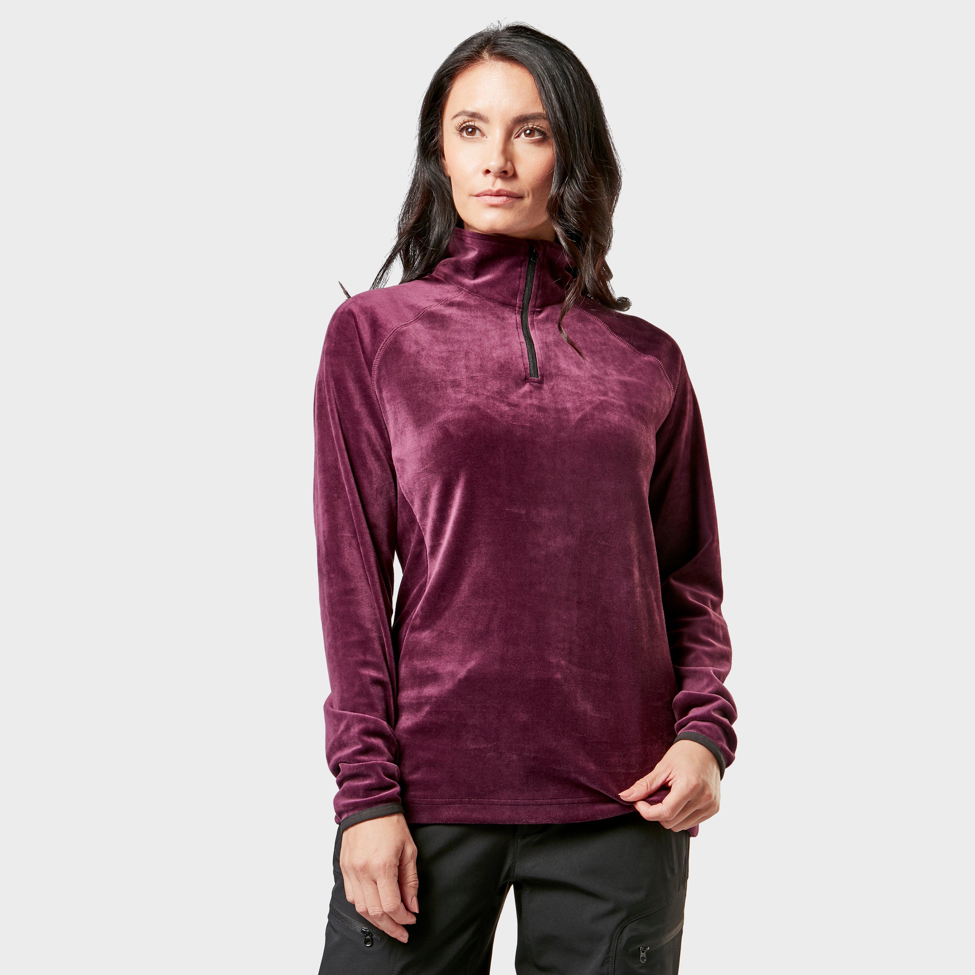Regatta Regatta Womens Half-Zip Lavene Fleece - Purple, Purple