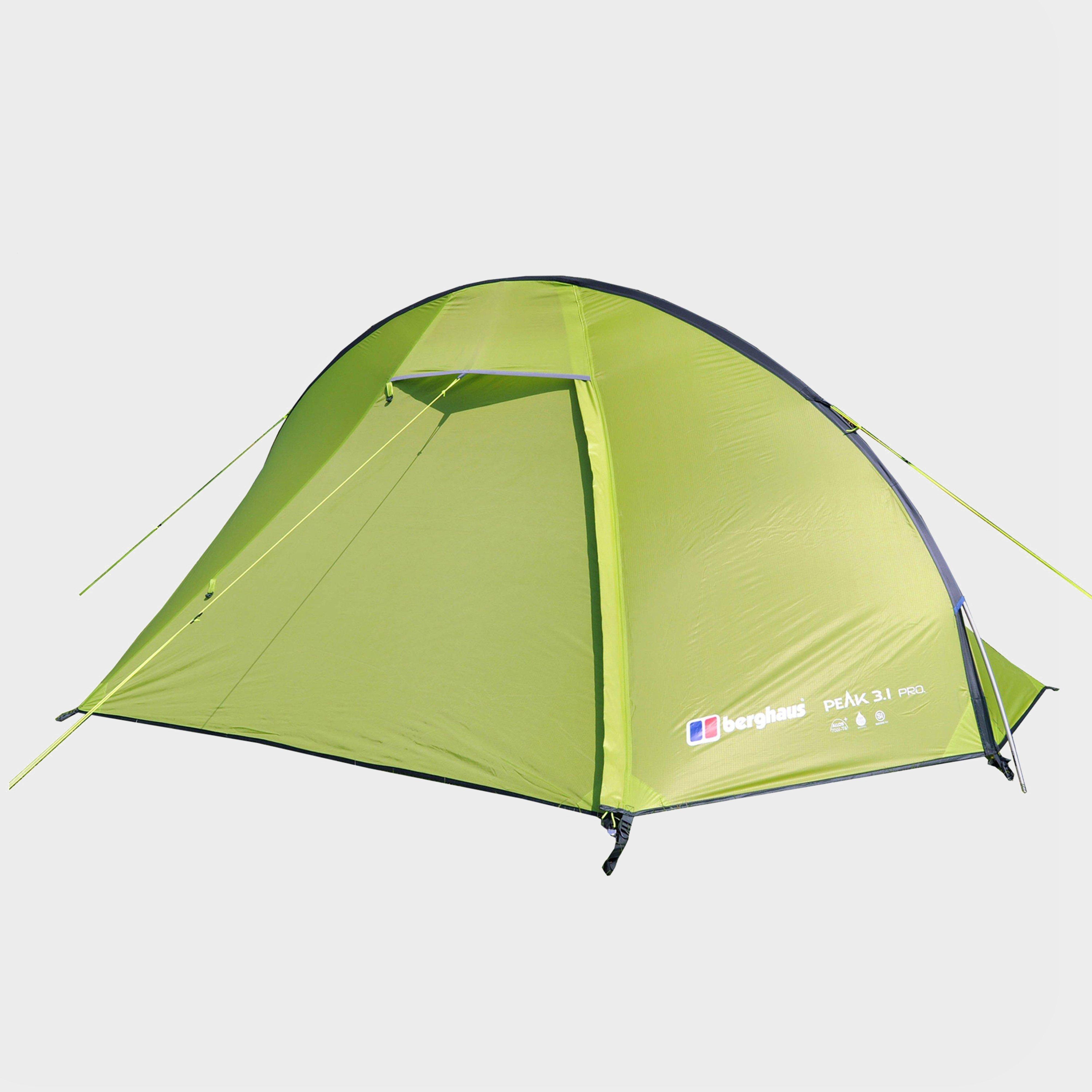 BERGHAUS Peak 3.1 Pro 1 Man Tent & Berghaus Peak 3.1 Pro 1 Man Tent