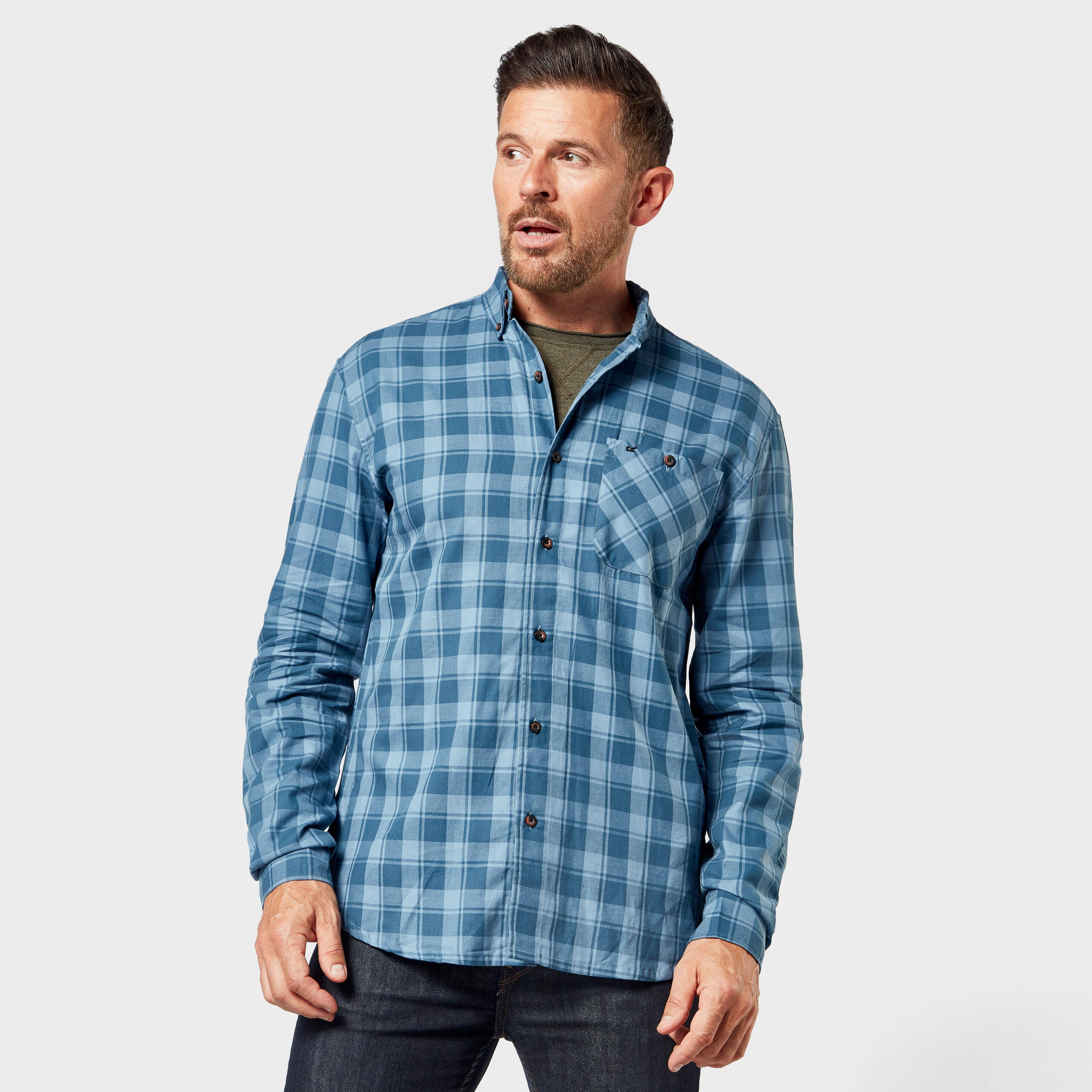 Regatta Men's Lazare Checked Shirt - Blue, Blue