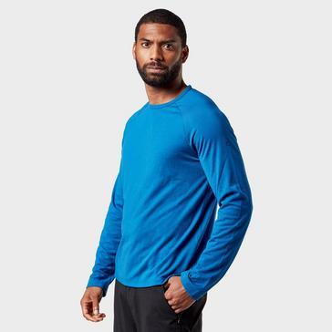 Blue Craghoppers Men's 1st Layer Long Sleeve T-Shirt